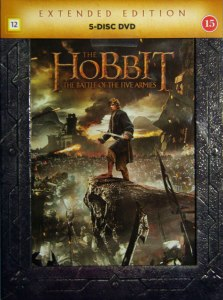 Got my The Hobbit: Battle of the five armies Extended version.