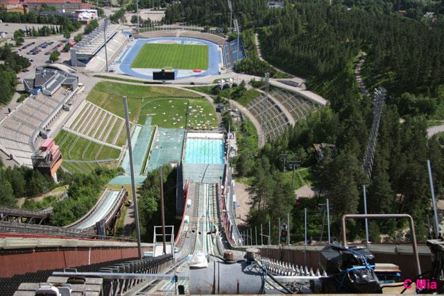 ski jumping tower