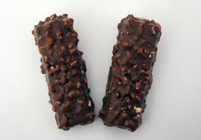 two chocolate bars