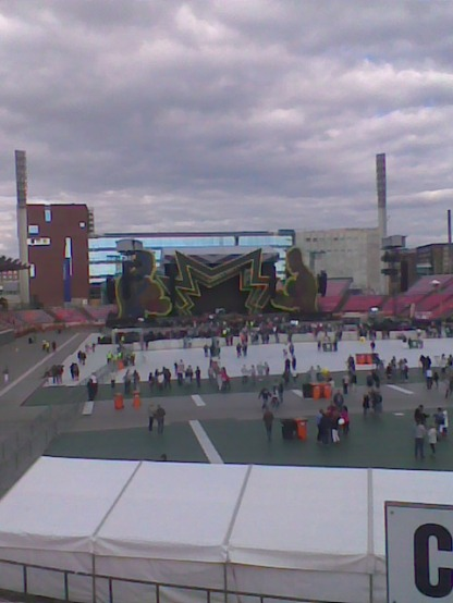 stage from far