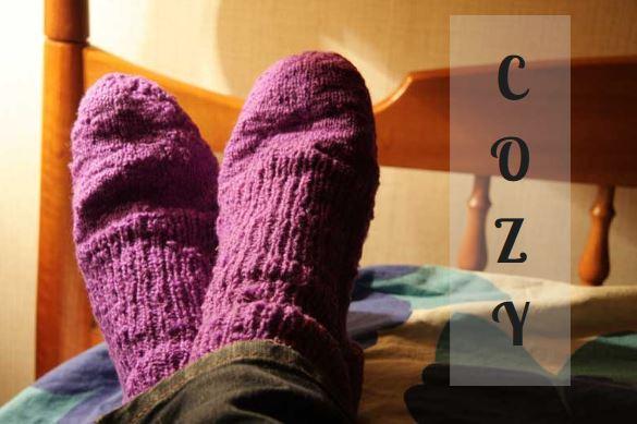 relaxed wool socks