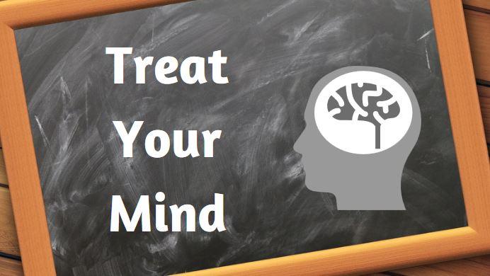 brain on blackboard
