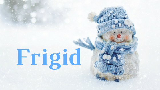 frigid small snow man
