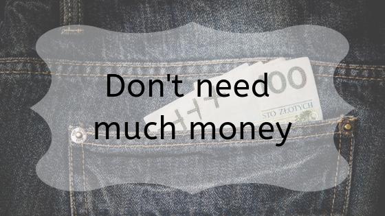 money in a back pocket