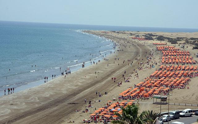 view to a beach
