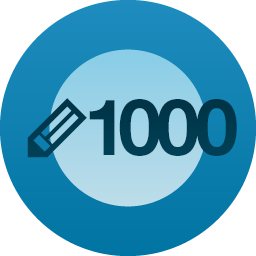 1000 posts on Wordpress