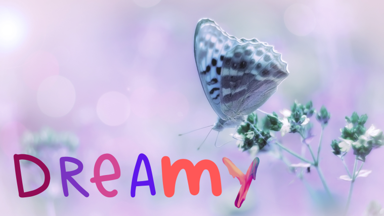 dreamy butterfly