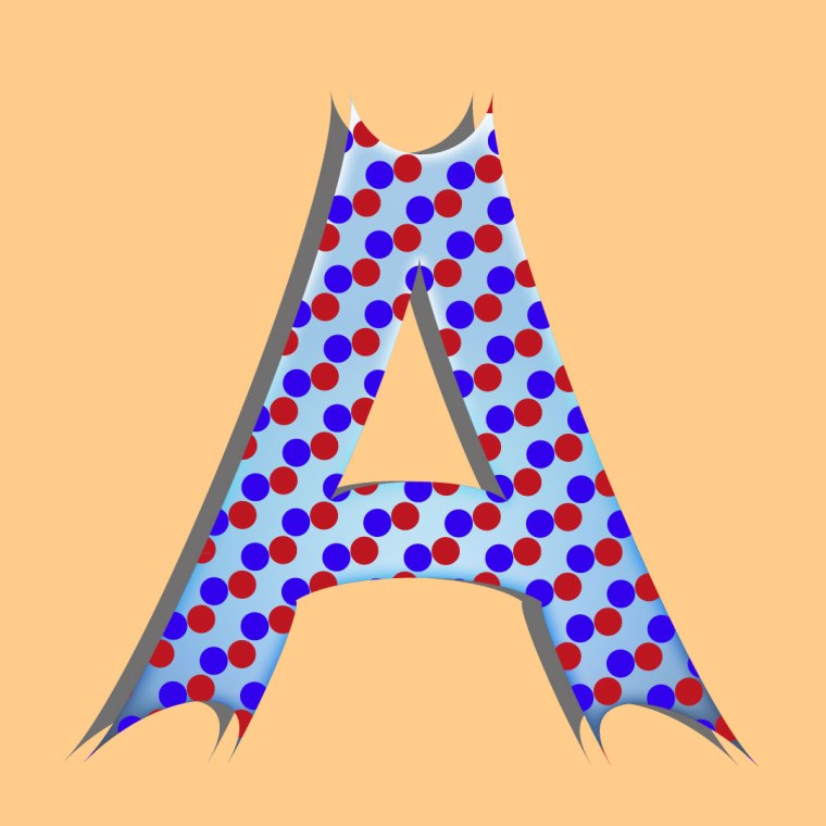 Big letter A